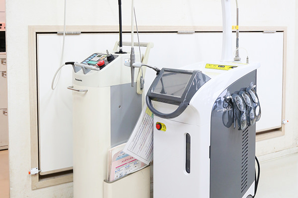 CO2レーザー、エルビュームヤグレーザー